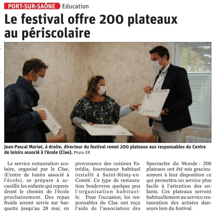 Festival Scolaire confinement